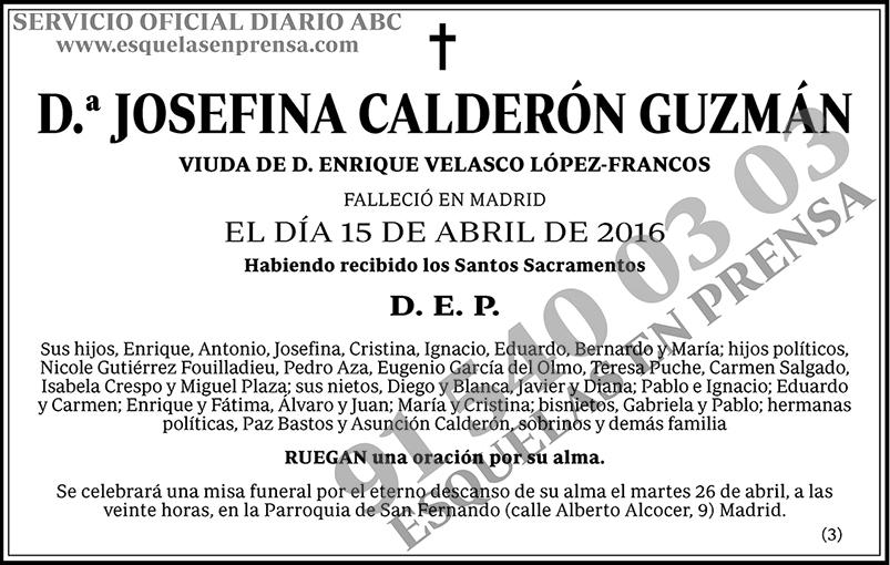 Josefina Calderón Guzmán